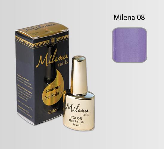 Гель-лак для ногтей «Milena» 08
