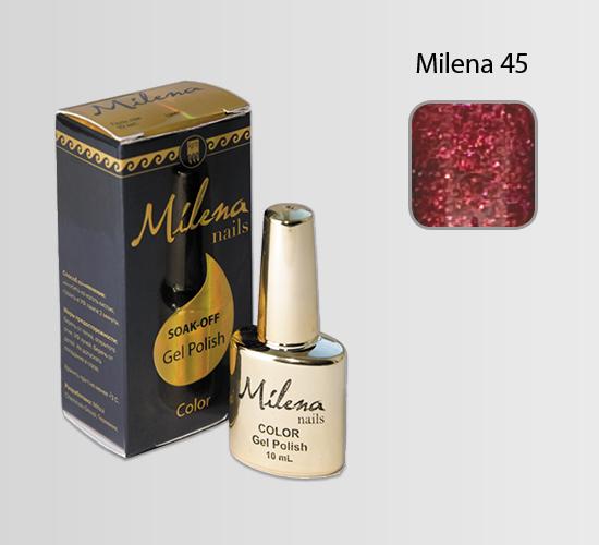 Гель-лак для ногтей «Milena» 45