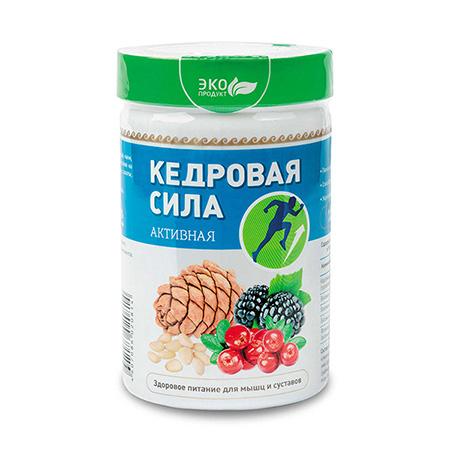 Продукт белково-витаминный «Кедровая сила - Активная»