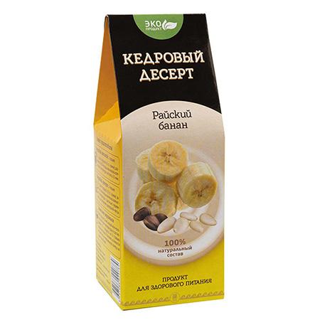 Кедровый десерт «Райский банан»
