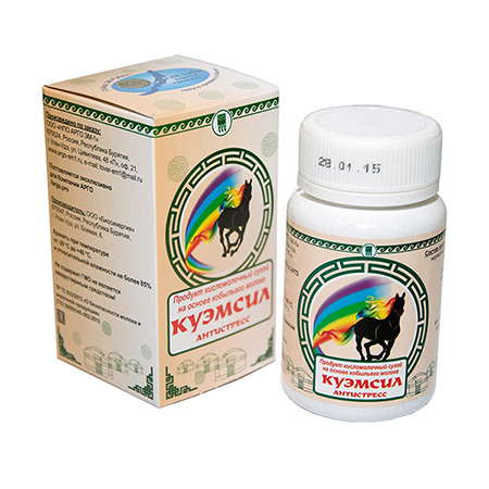 Продукт кисломолочный сухой «КуЭМсил» Антистресс