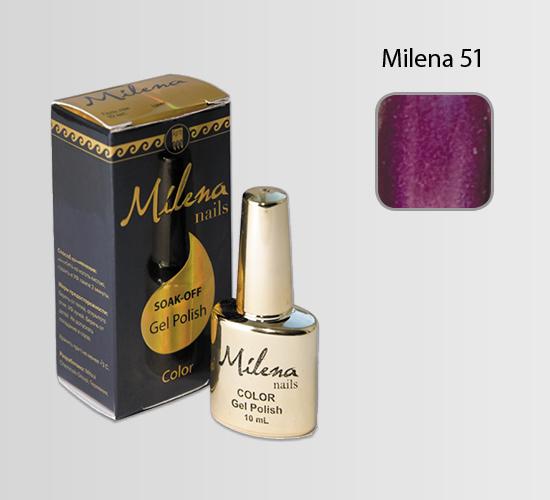 Гель-лак для ногтей «Milena» 51