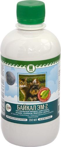 Продукт натуральный для собак, кошек, хомяков, морских свинок «Байкал ЭМ-2»